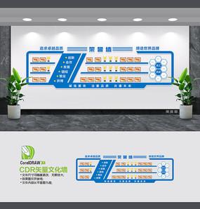 蓝色大气企业荣誉墙