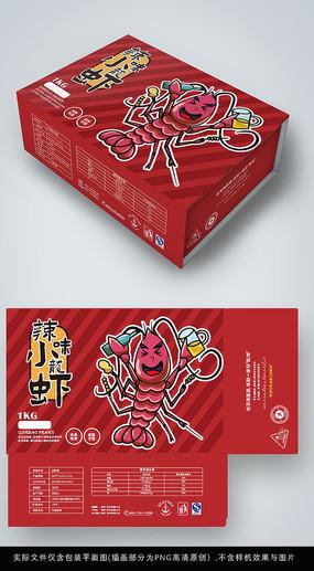 麻辣小龙虾包装