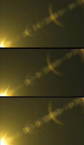 金色光效合成效果视频素材