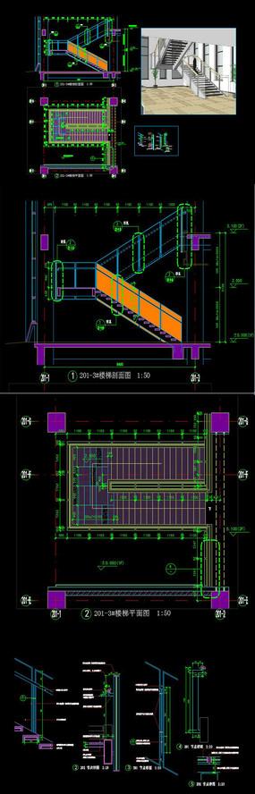 楼梯CAD