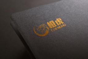 橙虎LOGO标志设计