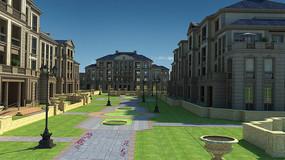 現代建筑3D模型