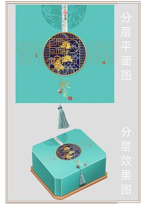 茶包装分层设计图