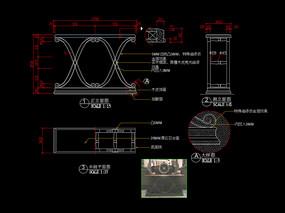 輕奢餐桌CAD玄關桌梳妝臺家具圖庫