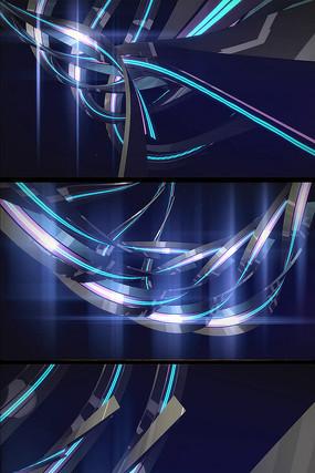 高光质感编织线条背景视频素材