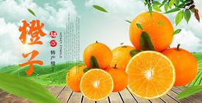 特产橙子海报