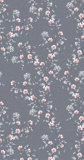 窗帘花卉印花图案