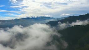 4K山间云雾视频素材