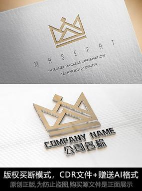 皇冠logo標志公司商標設計