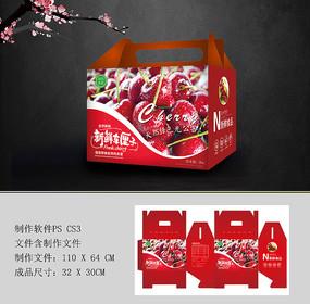 櫻桃車厘子水果包裝設計