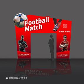 足球活动拱门