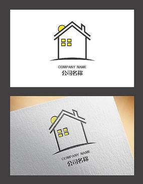 简约创意建筑logo设计