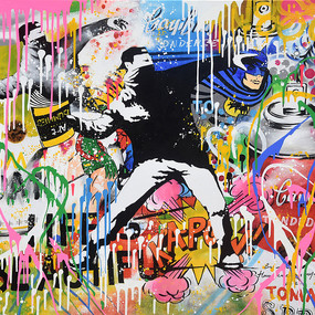 手绘抽象墙画艺术油画图装饰画