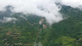 云雾弥漫的群山视频素材