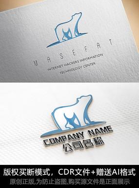熊logo标志公司商标设计