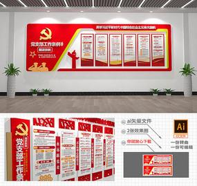 新时代党支部工作条例文化墙