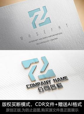 Z字母logo标志Z字母商标 CDR