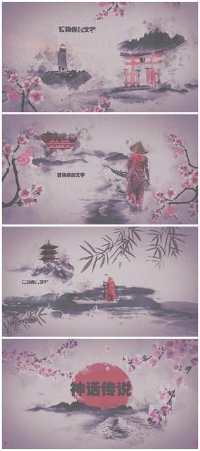 中国风神话故事片头视频模板