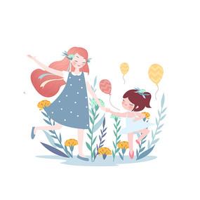 母亲节花海起舞