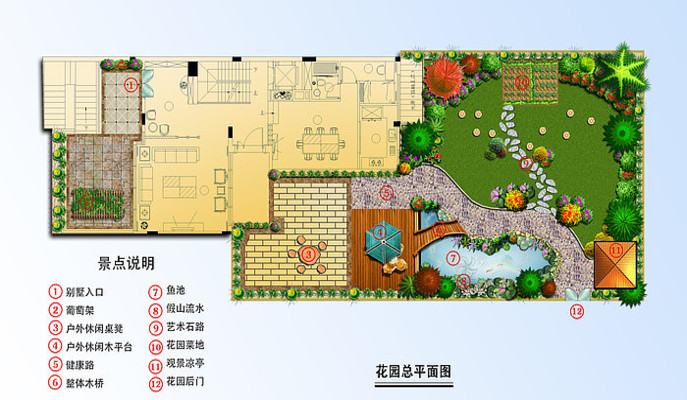 花园总平面图