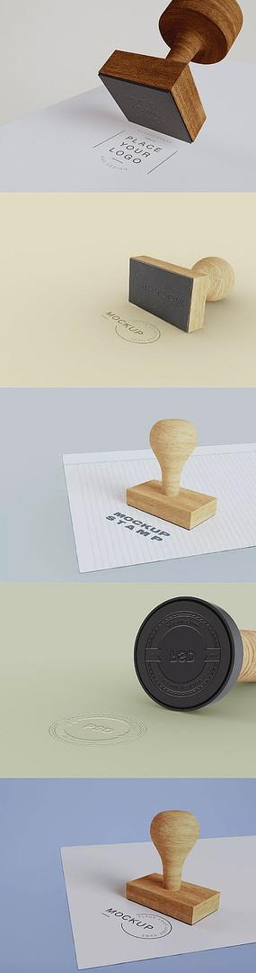 logo图章样机