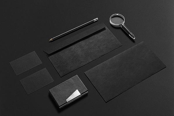 办公商务平面vi效果图样机模板