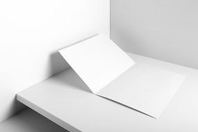 信封明信片卡片信封样机模板