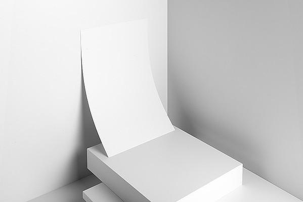 信封信纸合同vi设计样机