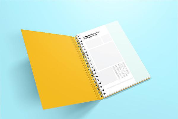 商务画册企业宣传册设计样机模板