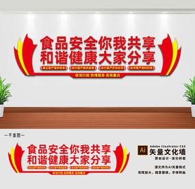 监督食品安全文化墙设计