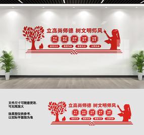 教师文化墙宣传标语