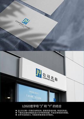英文JY服装服饰标志logo