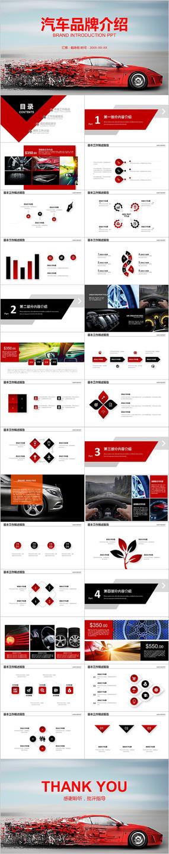 汽车行业汽车营销策划公司宣传PPT