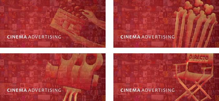 电影元素创意海报