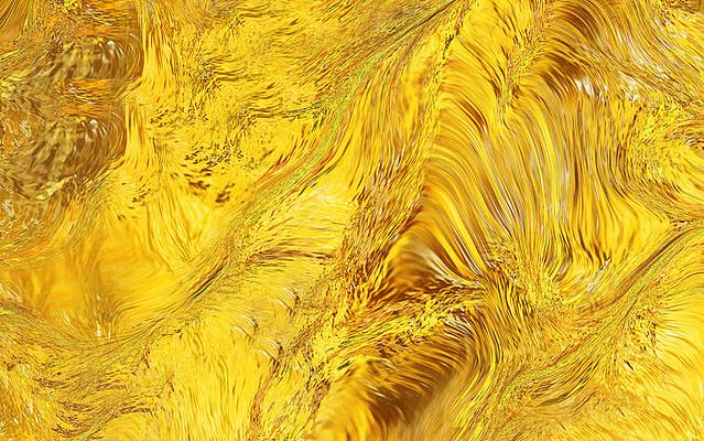 金色纹理金属黄色渐变卡通背景