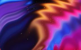 星空抽象彩色渐变装饰背景