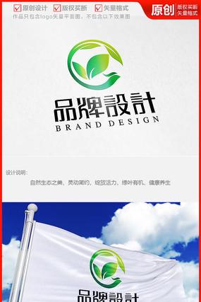 环保医疗医药科技生物制药公司logo