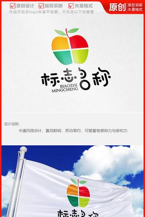 餐饮新鲜水果汁品牌公司logo商标志