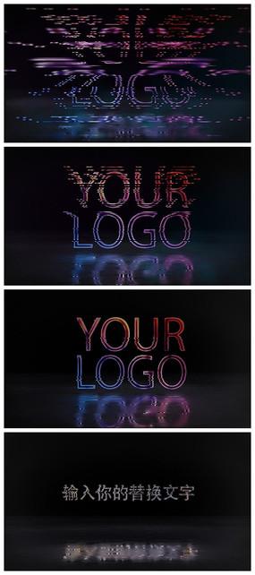 简洁故障logo