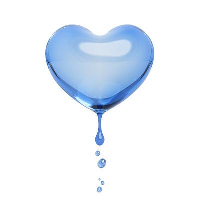 情人节爱心水滴