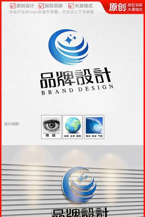 环保化工大海浪网络传媒广告公司logo