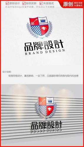 教育培训学校徽标logo商标志设计