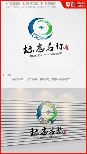 民族风艺术服装服饰布艺家居logo