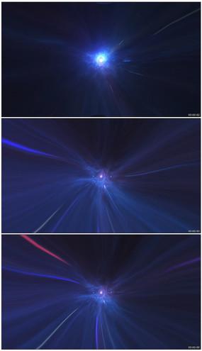 光线穿梭视频素材