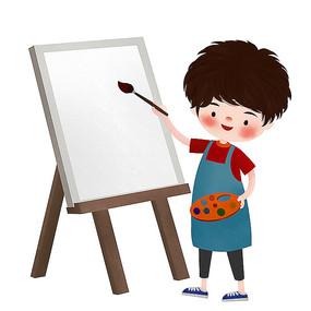 原创可爱卡通绘画儿童