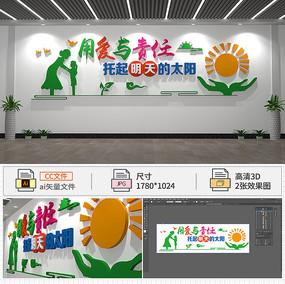 幼儿园标语文化墙
