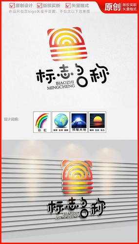 太阳能热力电力电器公司企业logo商标志