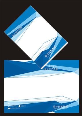 蓝色科技线条封面
