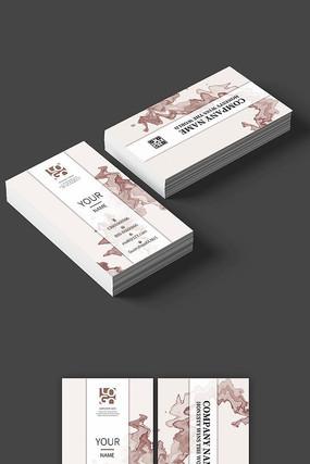 时尚企业公司名片设计