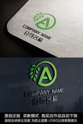 A字母logo标志A字母商标 CDR